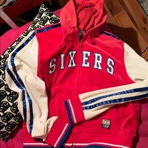 Philadelphia Sixers Zip Up Hoodie